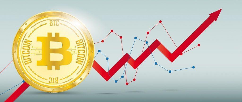 Рост цены биткоина